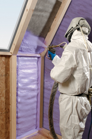Spray Insulation for Roof