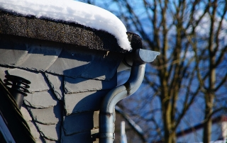 winter gutters